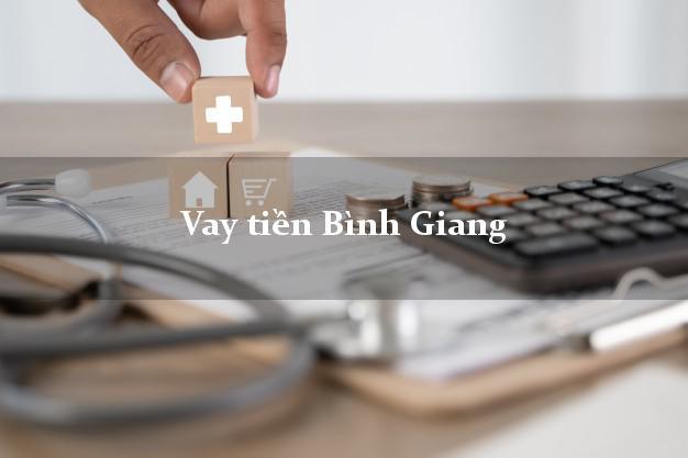 Vay tiền Bình Giang Hải Dương