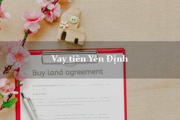 Vay tiền Yên Định Thanh Hóa
