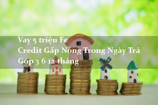 Vay 5 triệu Fe Credit Gấp Nóng Trong Ngày Trả Góp 3 6 12 tháng